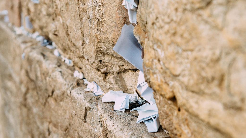 The Western Wall on Yom Kippur