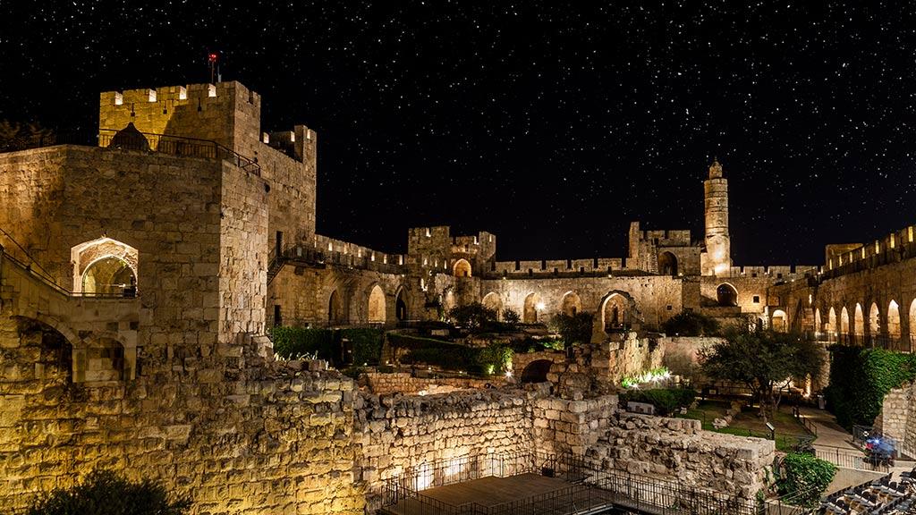 Jerusalem during Hanukkah